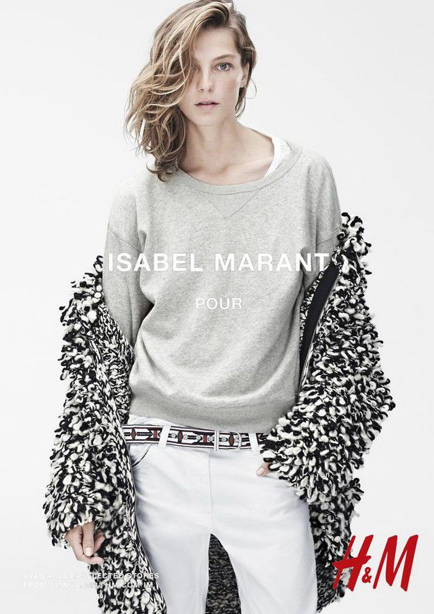 isabel marant for h m fall 2013 ad campaign arc street journal