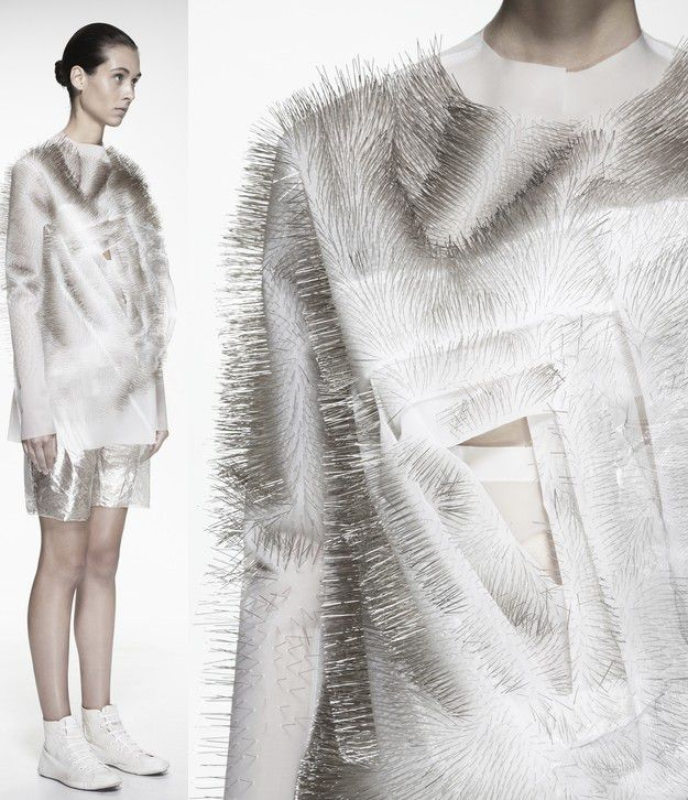 """FASHIONING THE INTANGIBLE"" : YING GAO CONCEPTUAL CLOTHING / NOV 14 - DEC 15, 2013 / ""UQAM CENTRE DE DESIGN"" / MONTREAL, QUEBEC"