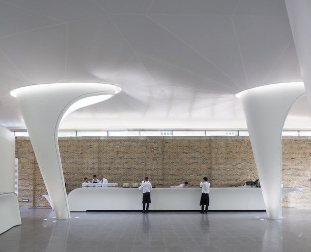 ZAHA HADID ARCHITECTS THE SERPENTINE SACKLER GALLERY LONDON UK