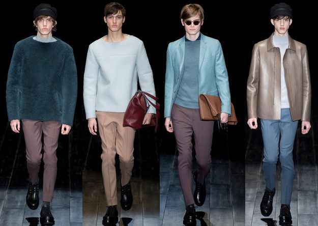 GUCCI FALL WINTER 2014 2015 MENSWEAR MILAN FASHION WEEK