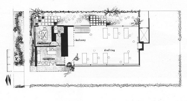 William S Beckett Architecture Office In Los Angeles 1950