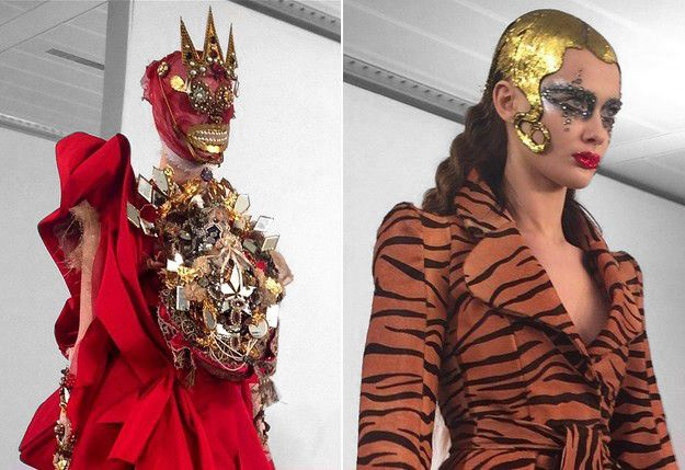 London maison martin margiela spring 2015 couture by for Galliano margiela