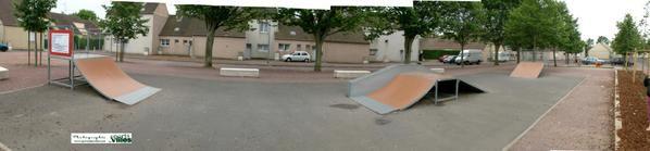 Skatepark caen quartier du chemin vert 14 sports des - Piscine chemin vert caen ...
