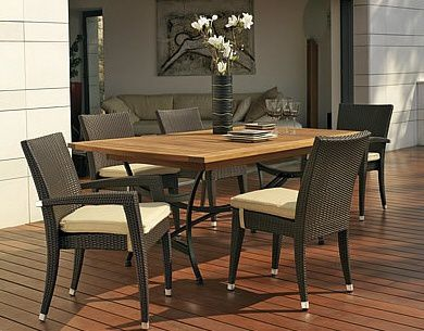 mobilier d 39 ext rieur jardin piscine terrasse restaurant hexagones. Black Bedroom Furniture Sets. Home Design Ideas