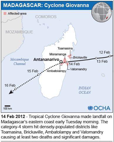 Map Madagascar OCHA Giovanna #1
