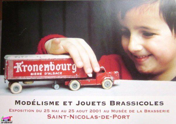 carte-postale-berliet-dinky-modelisme-musee-de-la-brasserie