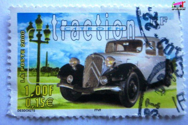 timbre-poste-france-citroen-traction
