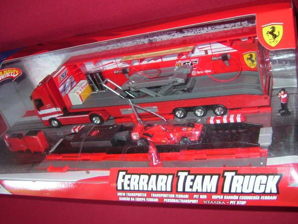 pit box ferrari diorama camion auto accessoires car. Black Bedroom Furniture Sets. Home Design Ideas