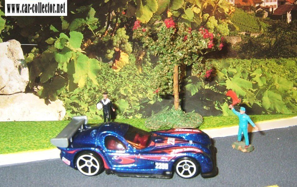 2009 / 070, série Hot wheels racing, mattel 1997, made in Malaysia, réf: P 2390.