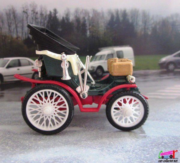 peugeot 4hp paris marseille 1896 safir 1 43 tacot francais car. Black Bedroom Furniture Sets. Home Design Ideas