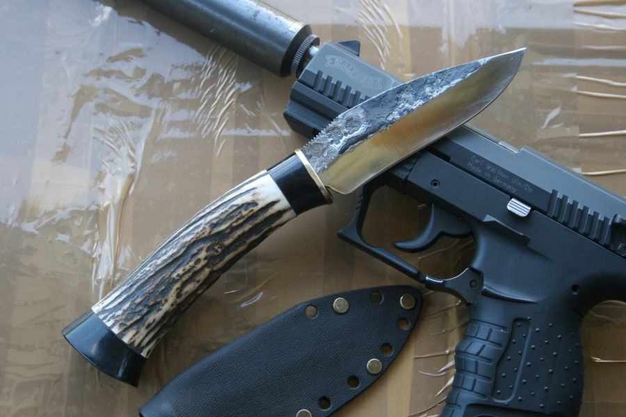 Les couteaux lame fixe les couteaux de paulo simoes - Comment affuter un couteau ...