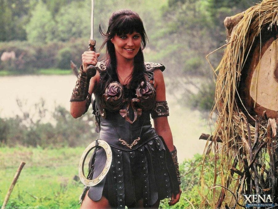 Xena Warrior Princess Costume Lucy Lawless as Xena