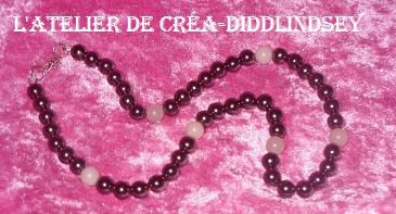 someille collier hematite opale rose (2)