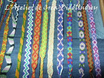Retrouvaille rire mes bracelet bresilien de l 39 amitier le blog de di - Comment faire du macrame ...