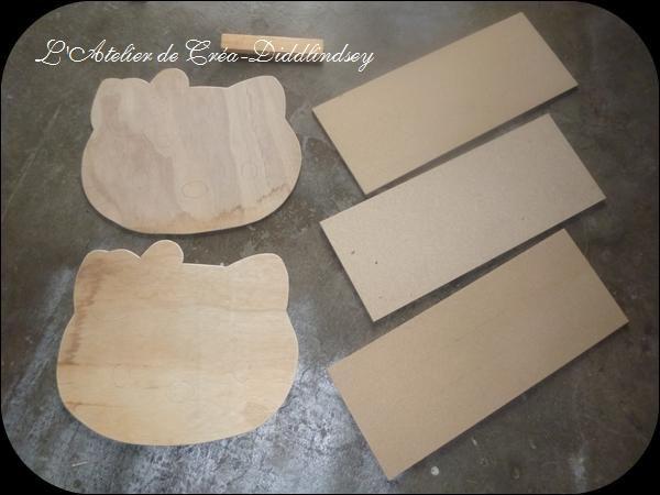 fabrication d 39 un berceau kitty en bois pour poup es en cour le blog de diddlindsey. Black Bedroom Furniture Sets. Home Design Ideas