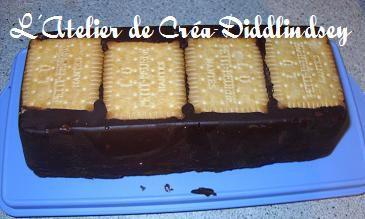 Un gateau au chocolat et petit beure sans cuisson le - Gateau chocolat sans cuisson ...
