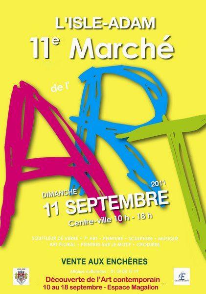 Affiche 2011 jaune