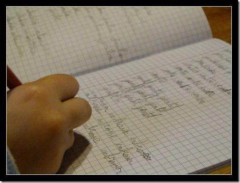 cahier et devoirs…..