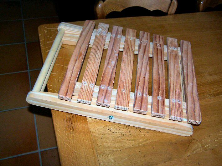 Faire une table pliante faire quand il pleut voil - Faire une table pliante ...