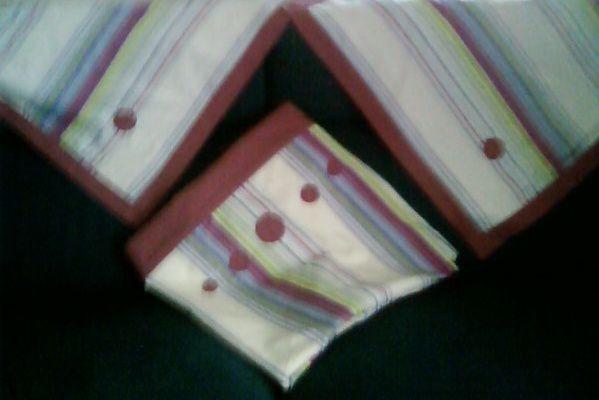 draps rayés