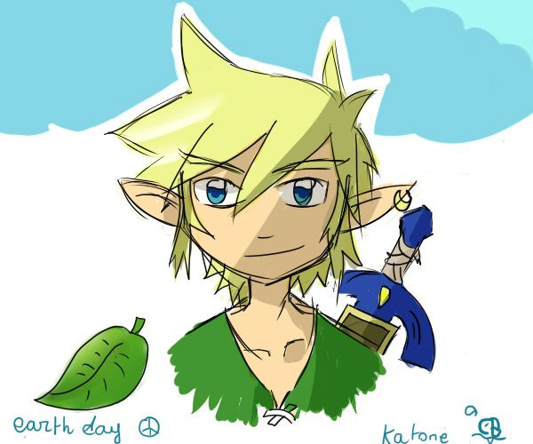 link toon earth day