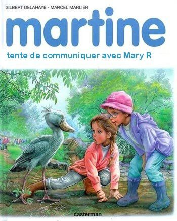Mary et Martine