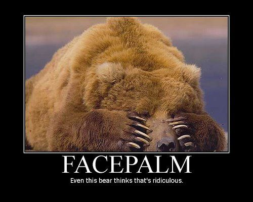ours facepalm