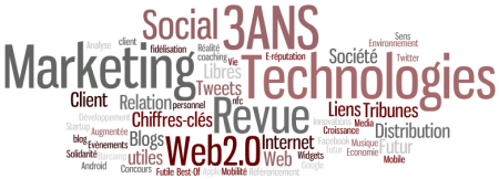 Blog Marketing et Technologies 3 ans