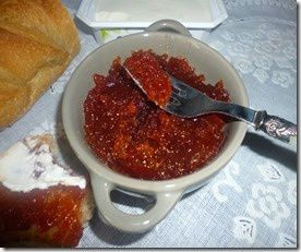 assia confiture coing poire gingembre