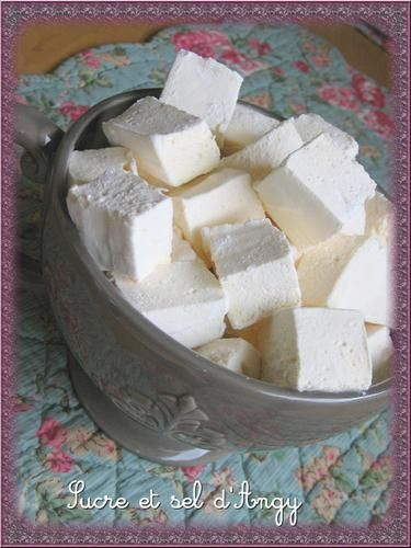 guimauves mashmallow
