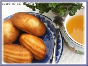 Madeleines à bosses