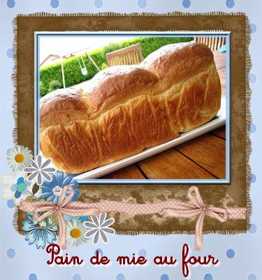 pain de mie au four