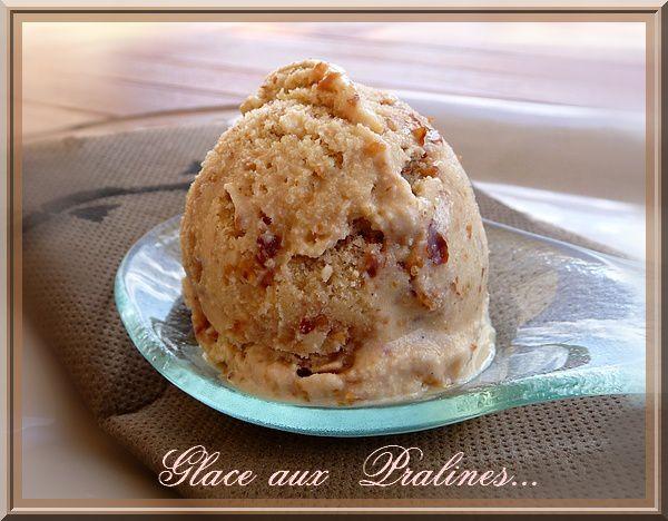 glace aux pralines ( chouchous)