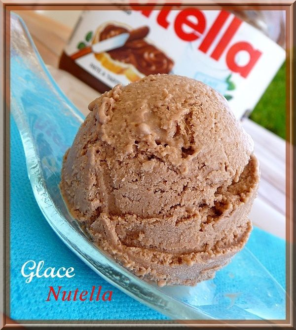 glace au Nutella ( angy )