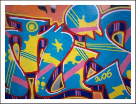 graffiti damis wellin