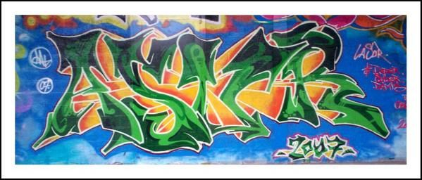 graffiti asur