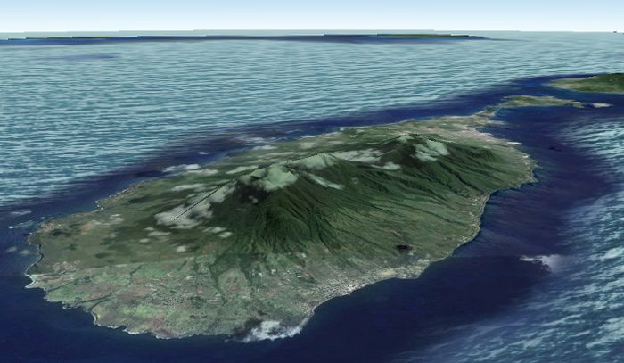 Saint Kitts and Nevis approche 700
