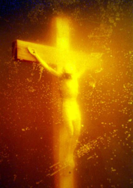 Andres Serrano-Piss Christ (Immersions) 1987
