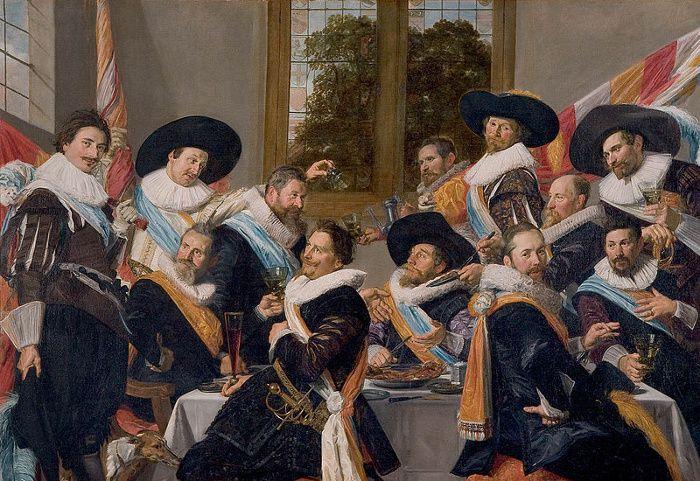 Frans Hals, Banquet des officiers du corps des archers de S