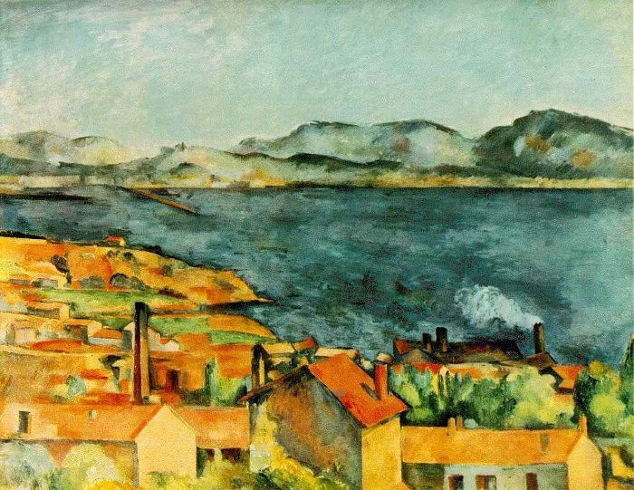 Paul Cézanne, La baie de L'Estaque, 1886