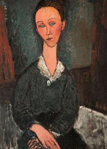 Amedeo Modigliani, Femme au col blanc 357