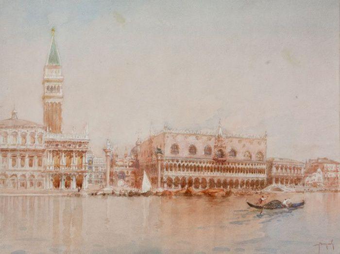 Emanuele Brugnoli (1859-1944), Piazza San Marco