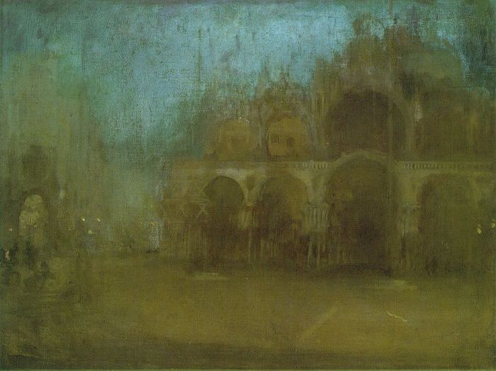 James Abbott McNeill Whistler, Nocturne Blue and Gold - St