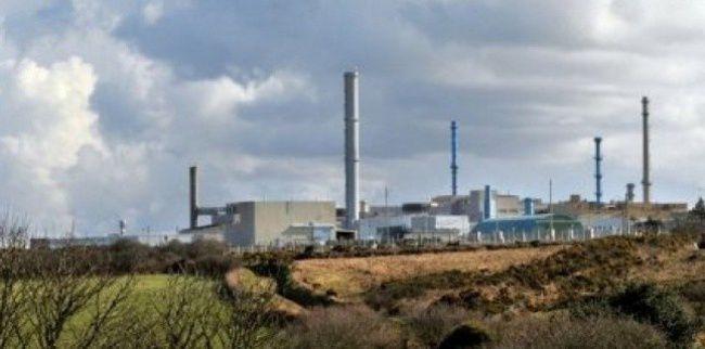 Centre de stockage des déchets nucléaires d'Areva à Beau