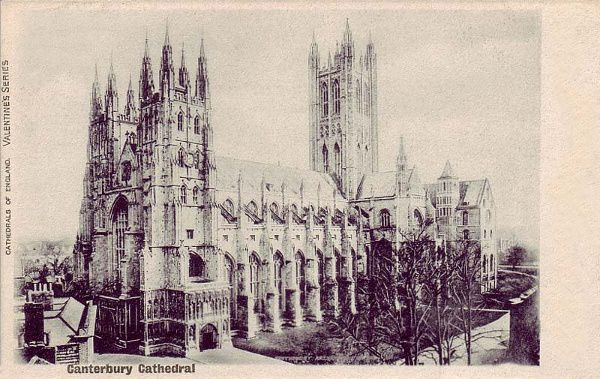 Canterbury Cathedral early 1900's 600