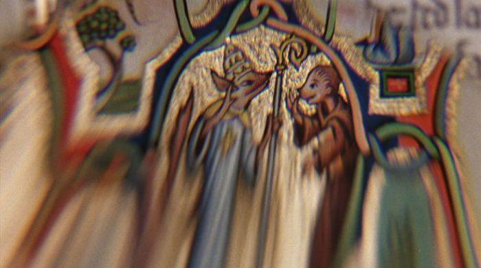 Le pape en renard et Messer l'Abbé en singe