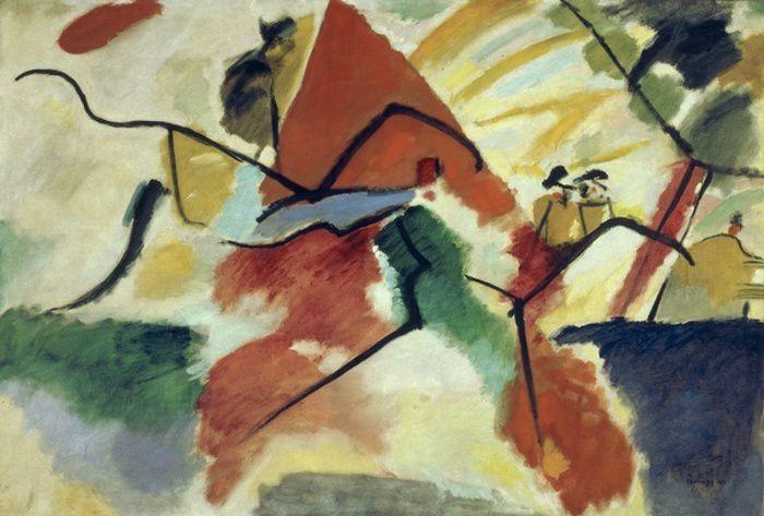 Vassily Kandinsky, Impression V (Parc), 1911