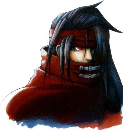MBTI enneagram type of Vincent Valentine
