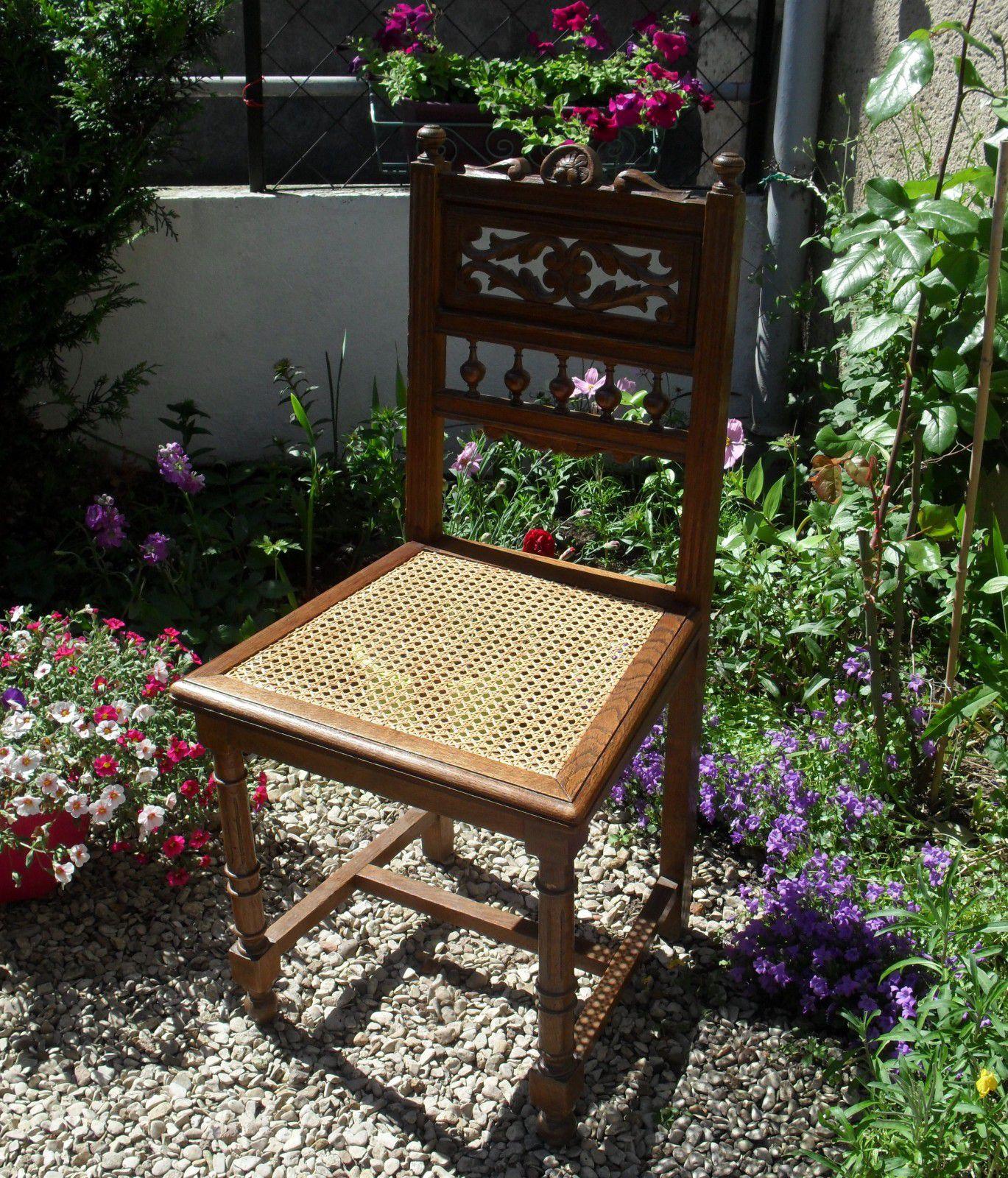 chaises, tabouret, fauteuils, banquettes, cabriolets en cannage français fait main par JADIS