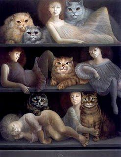 Chats (Leonor Fini)